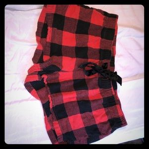 Old navy flannel pajama shorts L